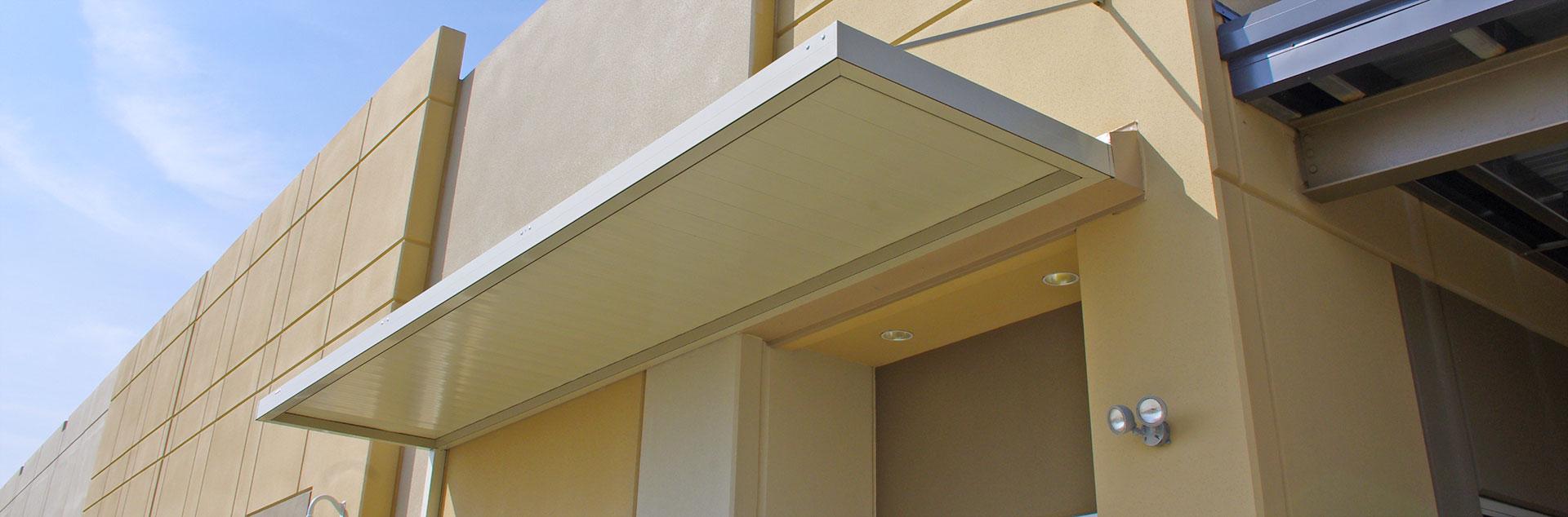 Flat Panel Awning : General awnings