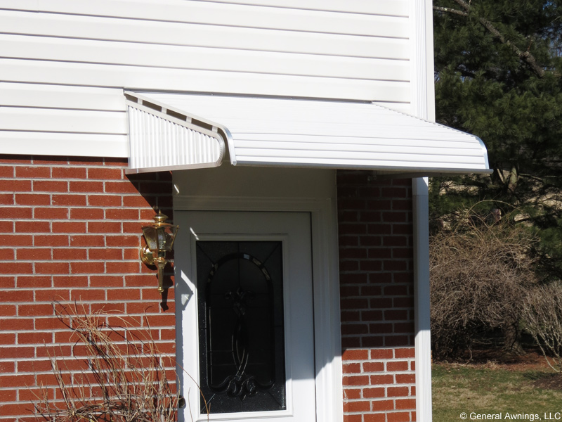 1500 Series Door Canopy With Sidewings