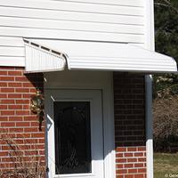 1500 Series Door Canopy With Sidewings