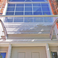 Pc1500 Series Door Canopy With Rain Channel