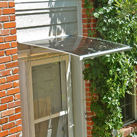 Tampa Series Door or Window Canopy with Adjustable Steel ...