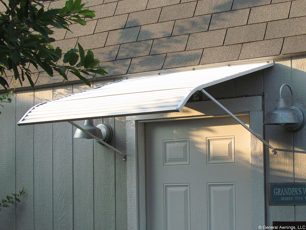 6-foot Width Traditional Door Canopy Awning