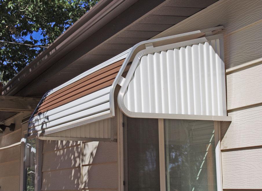 Window Canopies Product : Series casement window awning