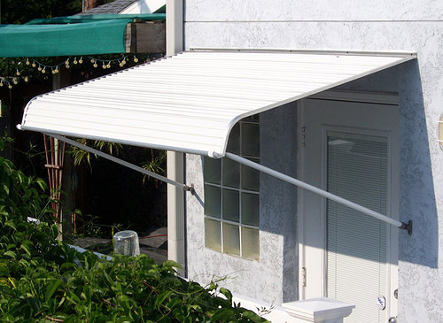 1100 Series Door Canopy with Support Arms