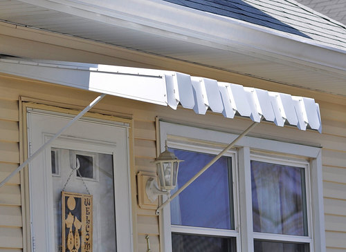 Brookline Door Awning