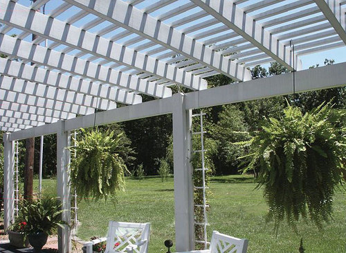 Coronado Attached Pergola