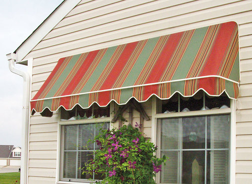 New England Roll-Up Awning