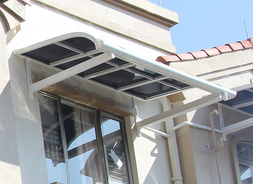 Polycarbonate Door Awnings General Awnings