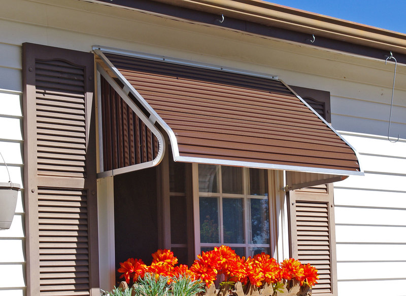 3500 series window awning for Glass awnings for home