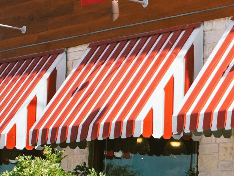 AC1000 Pan Type Window and Door Awning