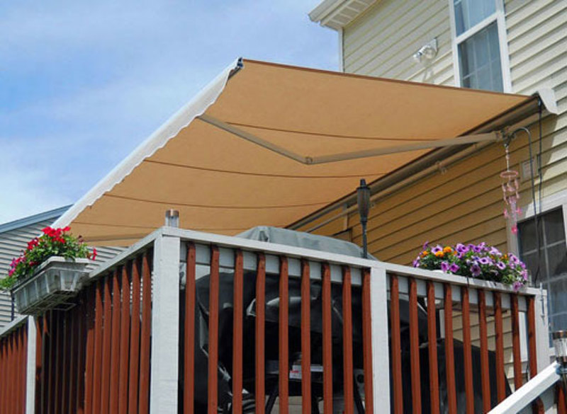 Retractable Canopies Product : Destin retractable patio awning