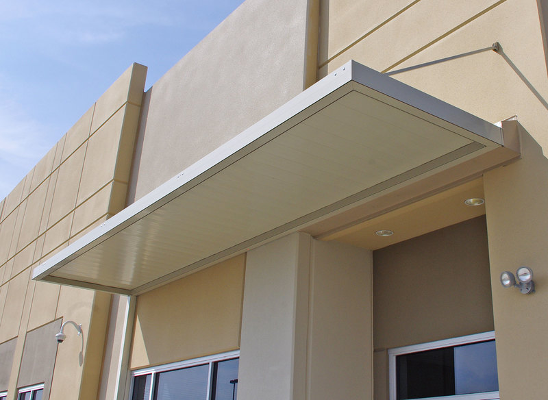 Imperial Marquee Awning With 8 Wide Flat Panels