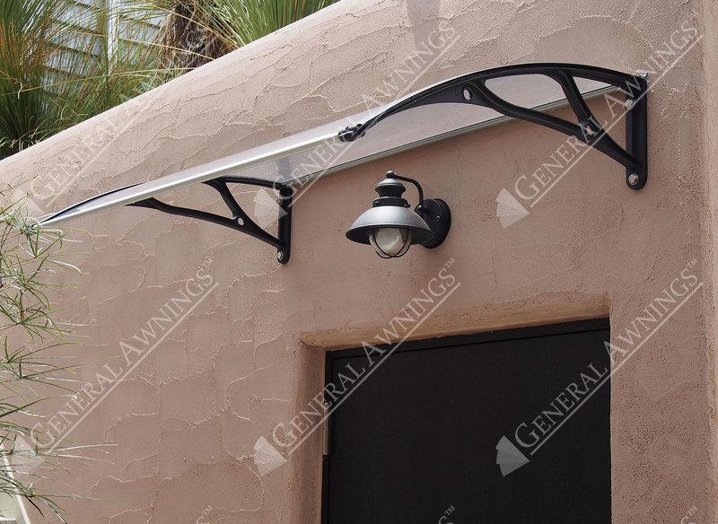Pc1200al Series Door Canopy With Aluminum Brackets