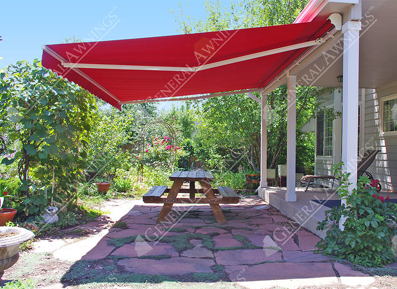 valencia semi cassette retractable patio awning