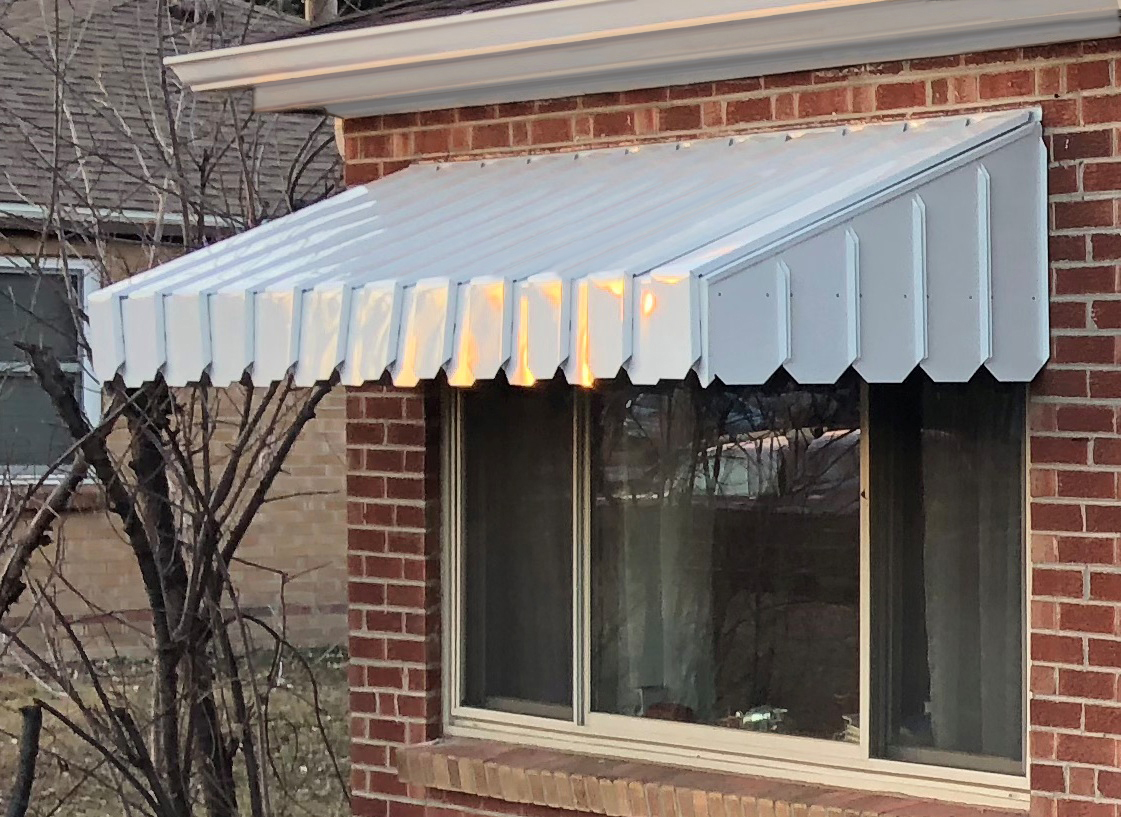Ac1000 Pan Type Window And Door Awning
