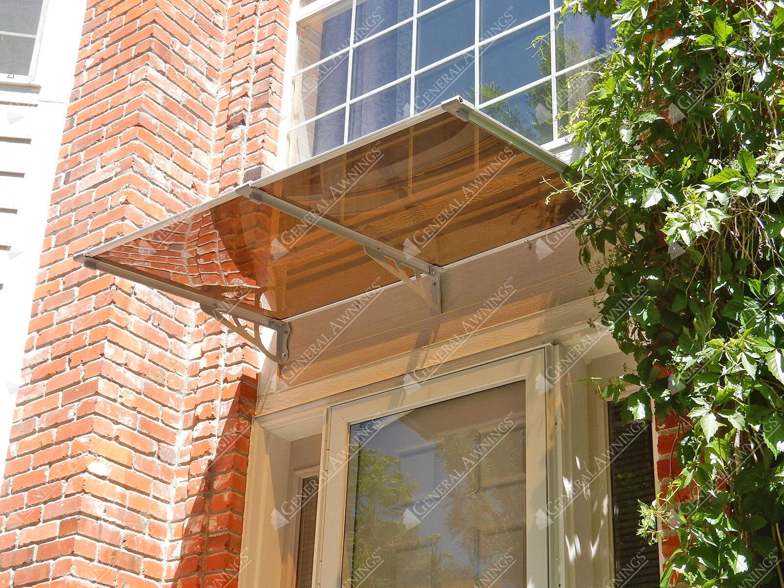 Aurora Series Door or Window Canopy with Steel Brackets