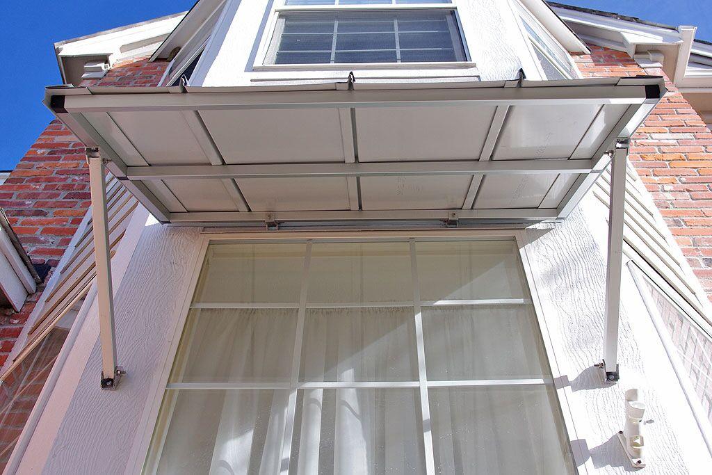 Austin Standing Seam Window Awning