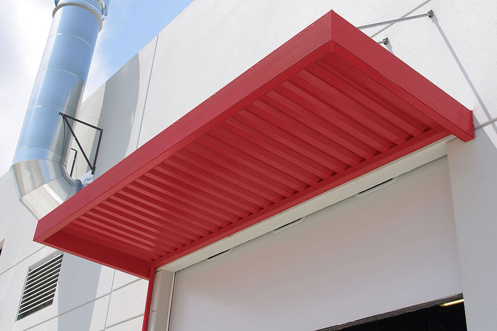 Imperial Marquee Awning With W Shaped Panels