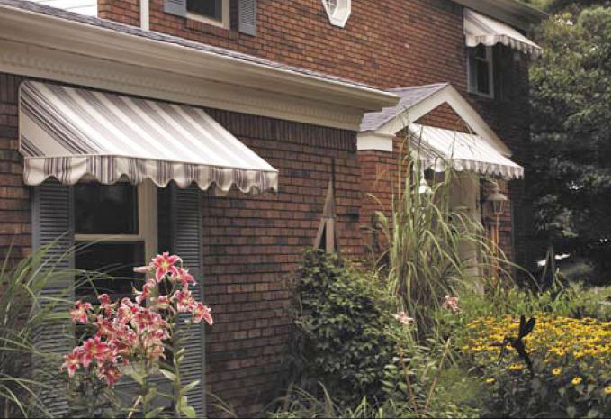 New England Roll Up Awning