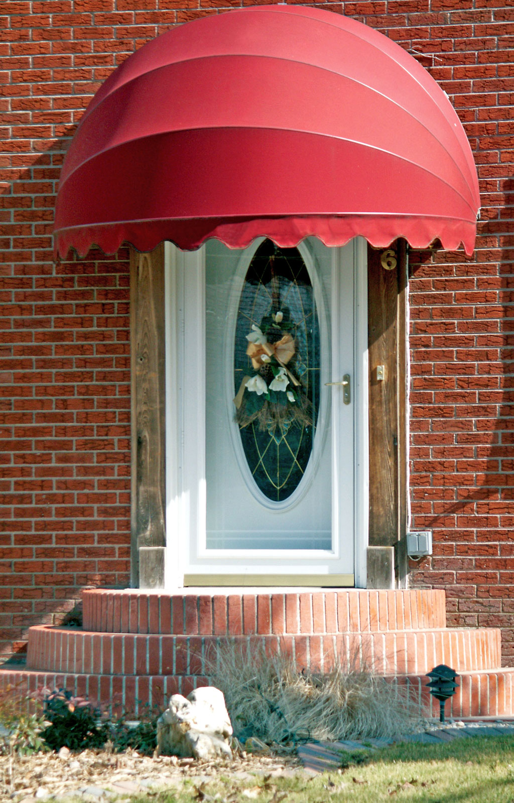 Dome Window Awnings : Seville dome shaped awning