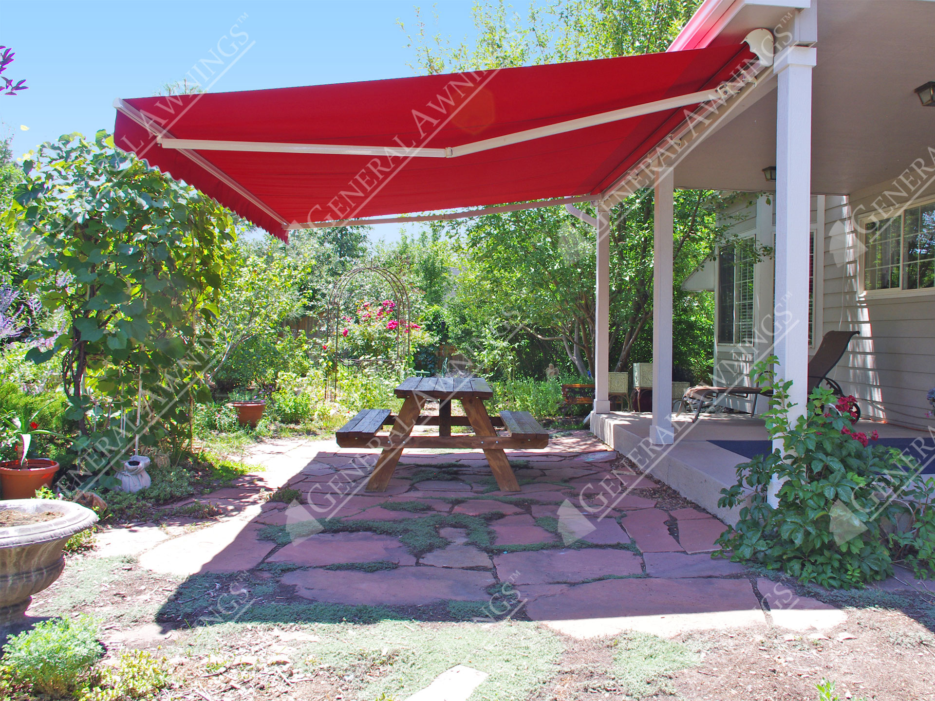outsunny red sun retractable arms nextag options ft shade prices compare at awn products patio manual awning x shopping